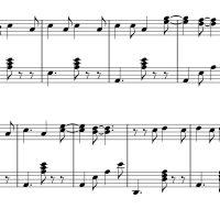 نت ساده پیانو