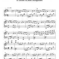 نت پیانوی تو بزن تا من برقصم (بسه دنیا دیگه بسه)